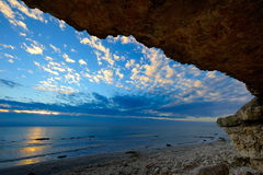 Paradis de caverne images libres de droits
