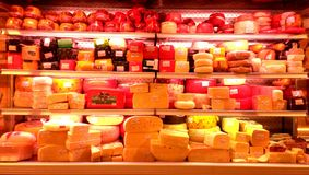 Paradis de fromage Photographie stock