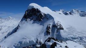 paradis de glacier de Matterhorn photographie stock