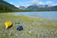 Paradis de kayak Image libre de droits