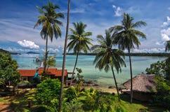 Paradis de Koh Mak Photos stock