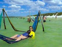 Paradis de lac Image libre de droits