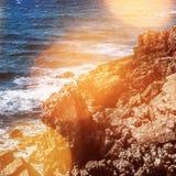 paradis de paysage marin - voyage, paysage marin, vacances et concept de vacances d'été photo libre de droits