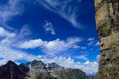 Paradis de pilier : La sentinelle grande photo libre de droits