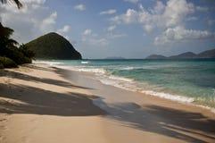 Paradis de plage de vacances Photographie stock