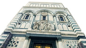 Paradis de porte de l'Italie Florence banque de vidéos
