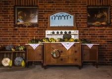 Paradis de potiron Photo stock
