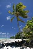Paradis de South Pacific Photographie stock