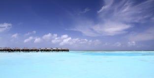 Paradis en Maldives photographie stock