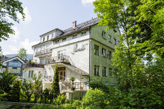 Paradis-guesthouse in Zakopane Stock Image