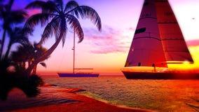 Paradis hawaïen Images libres de droits