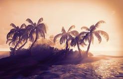 paradis hawaïen photographie stock