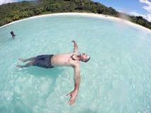Paradis i PR fotografering för bildbyråer