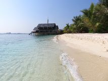 Paradis Maldives Photographie stock