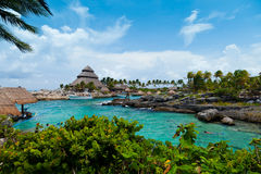 Paradis maya de la Riviera Image stock