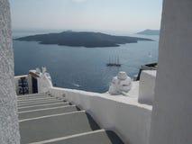 Paradis Santorini Grekland Royaltyfri Bild