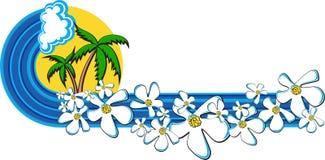 paradis solaire Images libres de droits