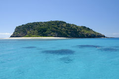 paradis som snorkelling Arkivbild
