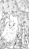 paradis tenerife för fågelkanariefågelö Vektor Illustrationer