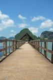 paradis till walkwayen Royaltyfri Bild