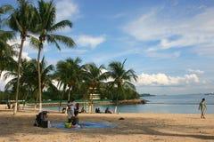 Paradis tropical Photos libres de droits