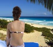 Paradis tropical Photographie stock libre de droits