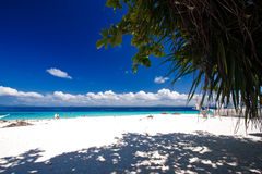 Paradis tropical d'île Images libres de droits