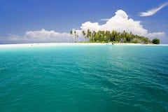 Paradis tropical d'île Images stock