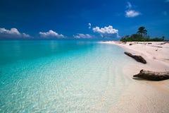 Paradis tropical de plage Photos libres de droits