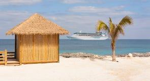 Paradis tropical de vacances Images stock
