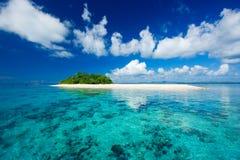 Paradis tropical de vacances d'île Images libres de droits