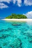 Paradis tropical de vacances d'île Photographie stock