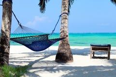 Paradis tropical parfait Images libres de droits