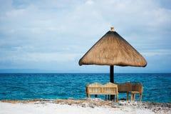 Paradis tropical privé de ressource Photographie stock libre de droits