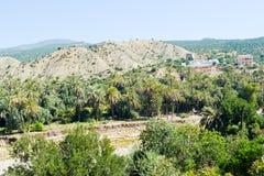 Paradisdal Agadir Arkivfoton