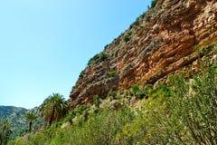 Paradisdal Agadir Arkivfoto