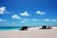 The Paradise. In the carribean sea Stock Photos