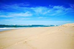 Paradise. Praia Foz do arelho Portugal, beach of Caldas da Rainha Backdrop Desktop royalty free stock image