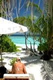 Paradise. Vew Stock Photo