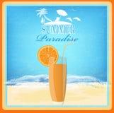 Paradise background Royalty Free Stock Photo