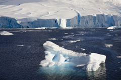 Paradise Bay - Antarctica Stock Photography