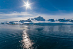 Paradise Bay Antarctica Royalty Free Stock Photos