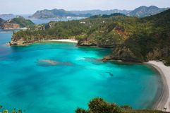 Paradise bay in Japan Stock Photography