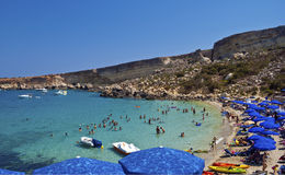 Paradise Bay, Malta Royalty Free Stock Image