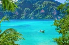 Paradise bay on Phi Island, Thailand Stock Photography