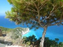 Paradise bay. Zakynthos island. Royalty Free Stock Photo
