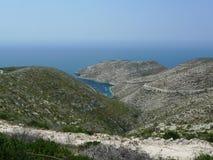 Paradise bay. Zakynthos island. Royalty Free Stock Image