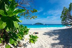 Paradise beach. Royalty Free Stock Photos