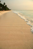 Paradise beach. A photo of an african beach just afer sunrise Stock Photos
