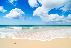 Paradise Beach Royalty Free Stock Photography